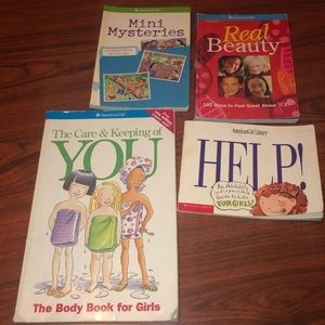 Lot of 4 American Girl Books